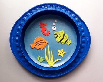 FISHBOWL kids craft kit BLUE