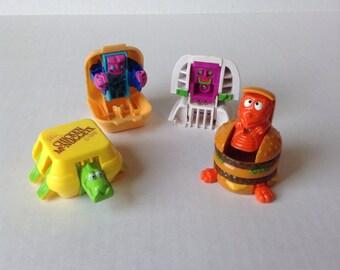 Vintage Mcdonalds Transformer Happy Meal Toys
