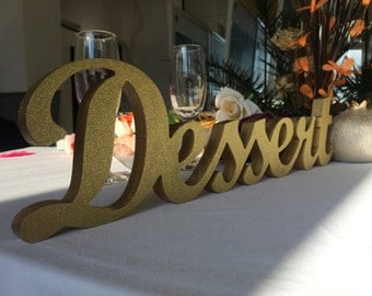 Decoration for a special dessert table Sweets sign, - great decoration for wedding, birthday, garden or beach party
