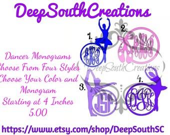 Dancer Monograms