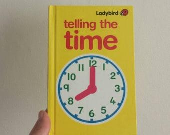 Ladybird Book Telling the Time Notebook handmade notebook Thank You Teacher