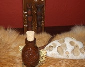 Pentagram Bottle - witch bottles pagan witchcraft wicccan witch apothecary ointments oils waters powders