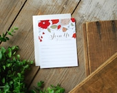 Party Invitation - Fill In The Blank Shower Invitation - Garden Party
