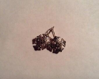 Gothic Renaisance Cross Jewelry Earrings