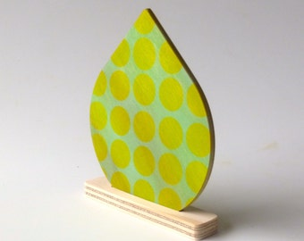 Objectify Reuseable Natural Air Freshener Disc - Binary Pattern