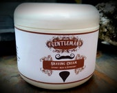 Gentelmen's Natural Shaving Cream - Coconut & Peppermint