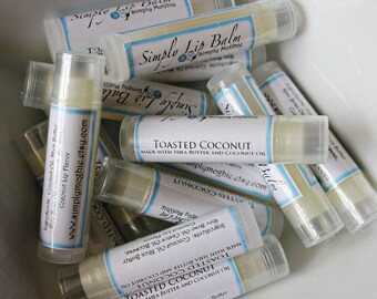 Toasted Coconut Lip Balm with Shea Butter