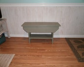 "wooden bench 30""  reclaimed/entryway/hallway/tv stand/coffee table/bench"