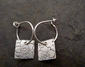 Roma Earring ~ Clematis