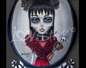 Lydia Deetz Art Print