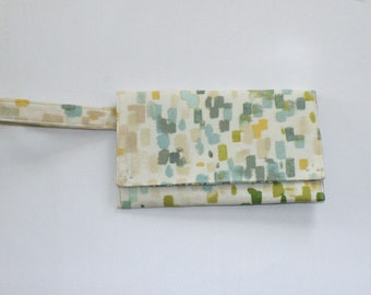 Envelope Style Clutch with a Wristlet Strap