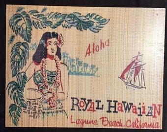Royal Hawaiian Tiki Restaurant Art