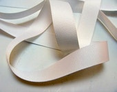 "5/8"" Grosgrain Ribbon - White"