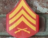 One Wall Mounted Chevron