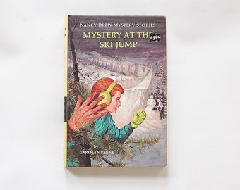Nancy Drew Book The Mystery at The Ski Jump / Nancy Drew Mysteries Book by Carolyn Keene