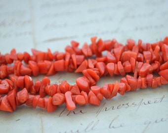16.5 Inch Coral Necklace