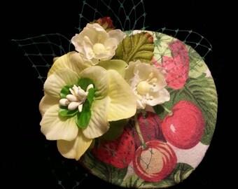 Cherry Blossom Fascinator