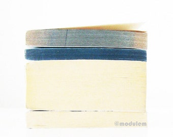 Blue White Print - An afternoon in Malmo - vintage books photo, urban chic, industrial, faded giclée, minimalist, peaceful, 8x8, 8x10