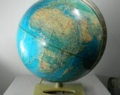 "Vintage World Globe Rand Mcnally Portrait Globe 12"" Globe A-110000-751 Home Decor"