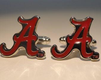 University of Alabama Cufflinks--Authorized Cufflinks