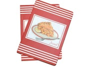 Apple Pies Soft Cover Blank Journals Set of Two 5 x 7 Blank Journals Discount Supplies