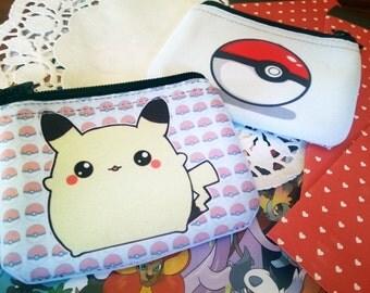 Fat chibi Pikachu - Pokemon coin purse / wallet