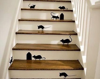 vinyl Stair decals (per stair)