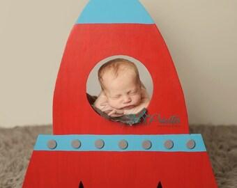 Original Rocket Ship Photo Prop