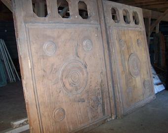 antique carved wood door,salvage mediterranean door,reclaimed door,salvage door
