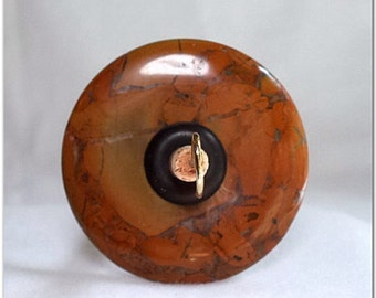 Drop Spindle - DS-032 - Bamboo Jasper