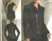Uncut Vogue 2936  Montana Paris Original Jacket Skirt Size 12  14  16  Bust 34  36  38   Waist 26.5  28  30