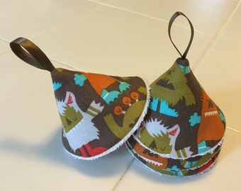 Tinkle Tents/ Peepee Tents/ Tinkle Toppers/ Baby Boy Caution Caps / Furry Monsters
