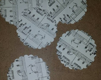20 Musical Envelope Seals.