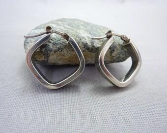 Earrings Sterling Silver Italian Earrings