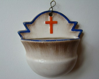 Antique Holy Water Font - France
