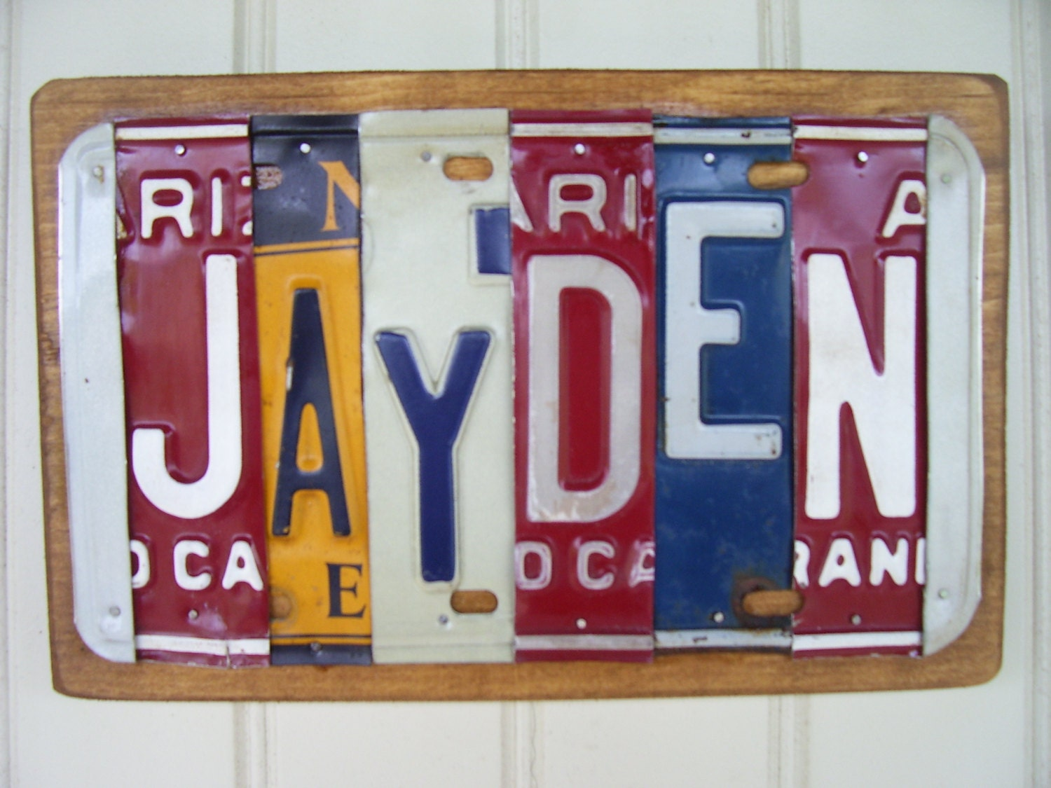 Chandeliers pendant lights for Custom license plate letters