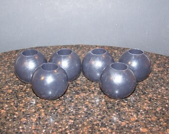 Custom Color Set of 6 Inch and a Half Diameter Silicone Ball Gag Balls Mature