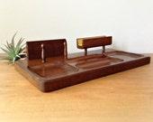 Vintage Valet Tray Dresser Valet Desk Organizer Mid Century Modern