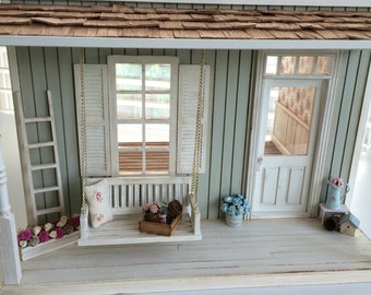 Pre-Order Custom Miniature 1:12 scale Little Farmhouse Cottage