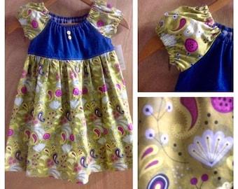 Peasant Dress, size 4t