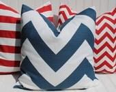 Nautical Pillows, Throw Pillows, Navy Red White Blue Cushions, Fourth of July, Chevron, Stripe, Stars, Lobster, Anchors, Seahorse Pillows