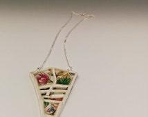 Bouquet Of Street Maps, Paris, Porcelain Jewelry Line By Karolina-Anna Hajna