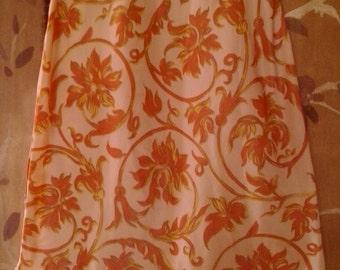 60s floral Saramae petticoat / underskirt