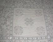 Vintage Wedding Bed Coverlet