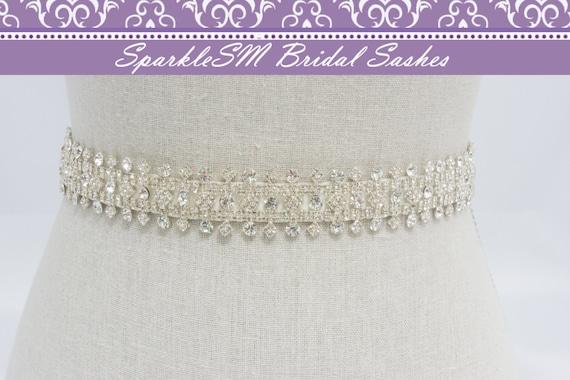 Crystal Bridal Sash, Wedding Belts, Rhinestone Belt, Bridal Sash Belt, Wedding Belts, Wedding Sashes, Rhinestone Sash, Beaded Bridal Belt