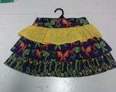 Girls Layered Skirt Size 8