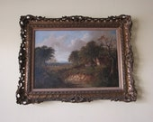 Oil Paintings, Oil on Canvas Landscape Painting by Joseph Thors (ca. 1835 – 1920)