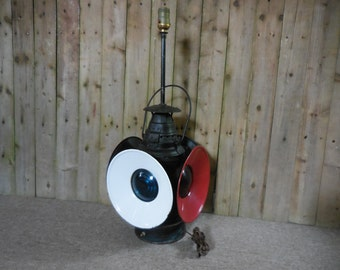 Vintage Dressel Switch Lantern Lamp