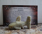 Hand Carved *SHARK* Animal Spirit Totem for Spiritual Jewelry or Crafts