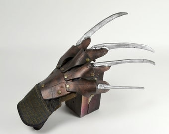 Nightmare on Elm Street, Freddy Krueger inspired, Safe, Foam Fabricated Nightmare Slasher Glove